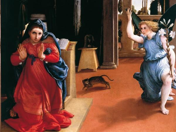 La Annunciazione di Recanati, olio su tela (166x114 cm) di Lorenzo Lotto, databile al 1534 circa e conservato nel Museo civico Villa Colloredo Mels a Recanati.