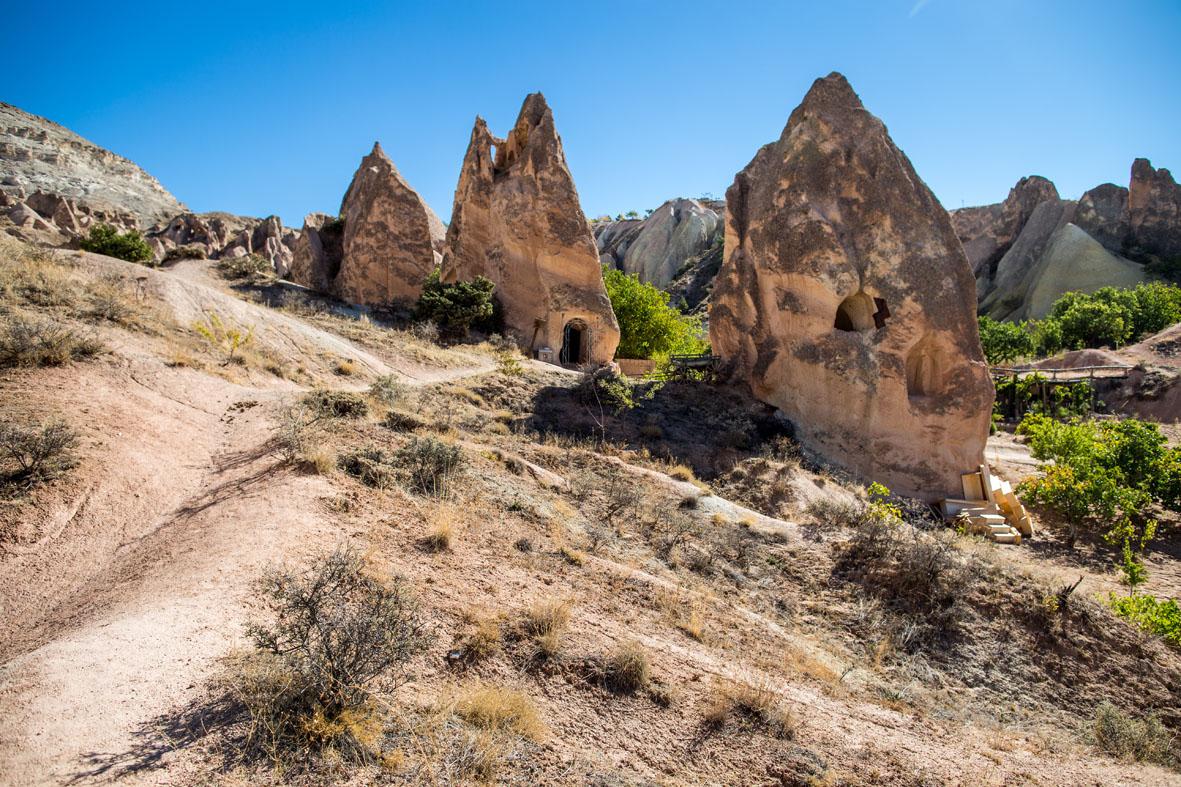 Chiesa dello stilita Niceta in Valle Rossa. Archivio fotografico della Missione di studi dell'Università della Tuscia in Cappadocia 2006-2019