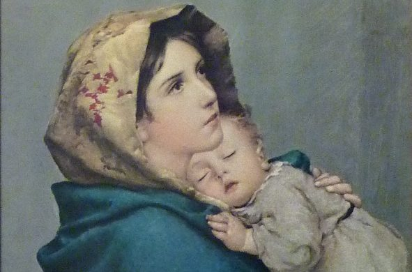Madonna col bambino Ferruzzi