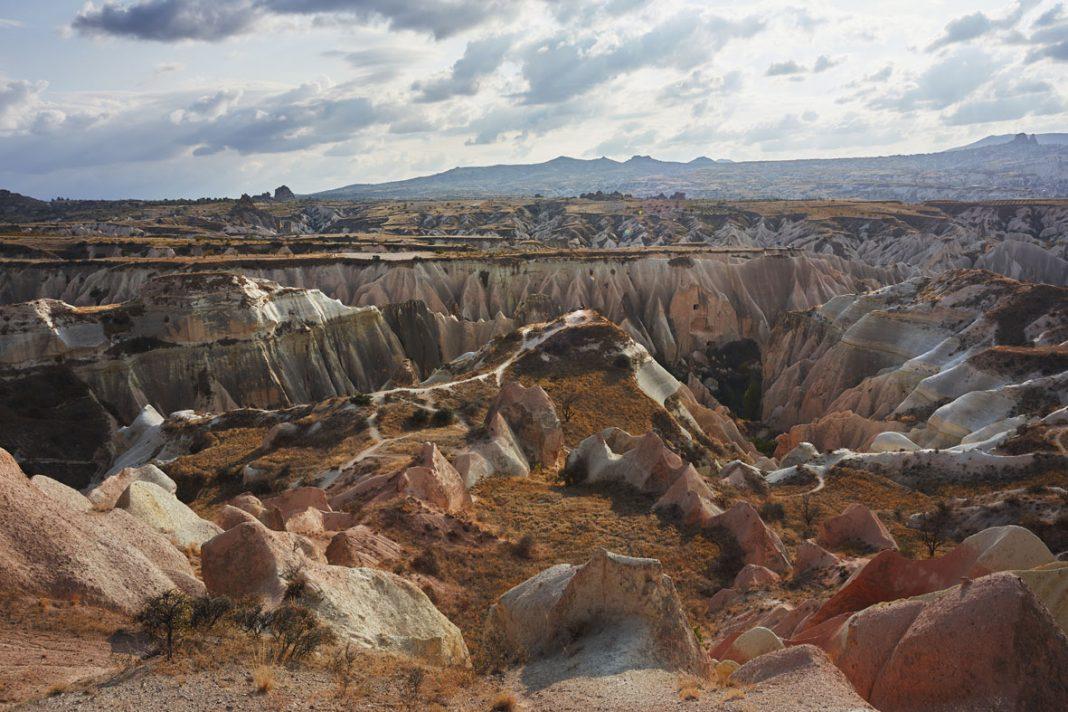 la Valle delle Rose e la Valle Rossa in Cappadocia