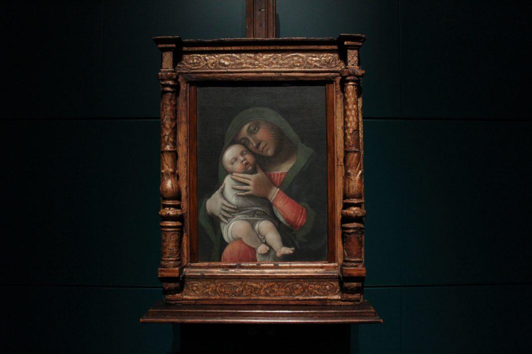 la Madonna col Bambino di Andrea Mantegna