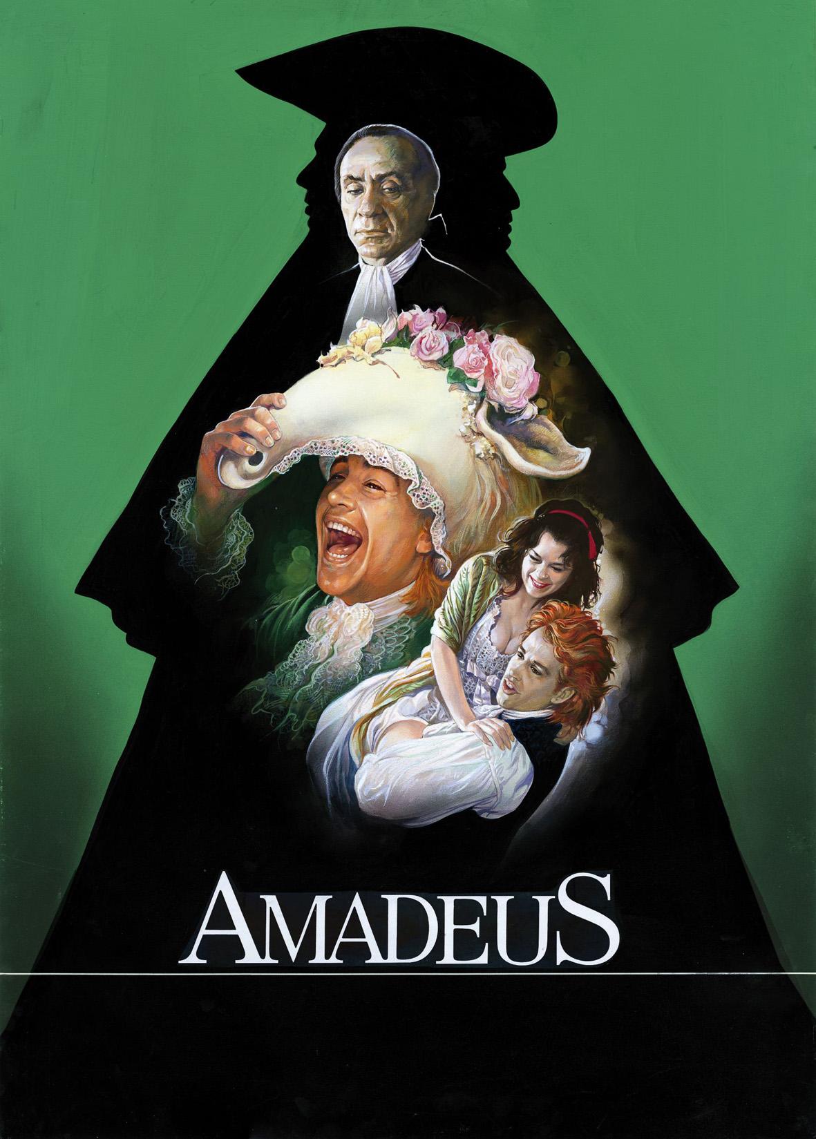 Amadeus, 1984, USA, Drammatico, Originale. Archivio Casaro
