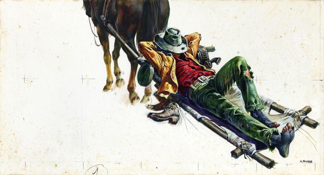 Renato Casaro: Lo chiamavano Trinità, 1970, Italia. Western, Originale. Archivio Casaro
