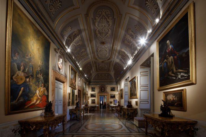 GalleriaCorsini_01 Galleria Corsini, Prima Galleria Courtesy Gallerie Nazionali di Arte Antica, Galleria Corsini, Roma Foto di Alberto Novelli