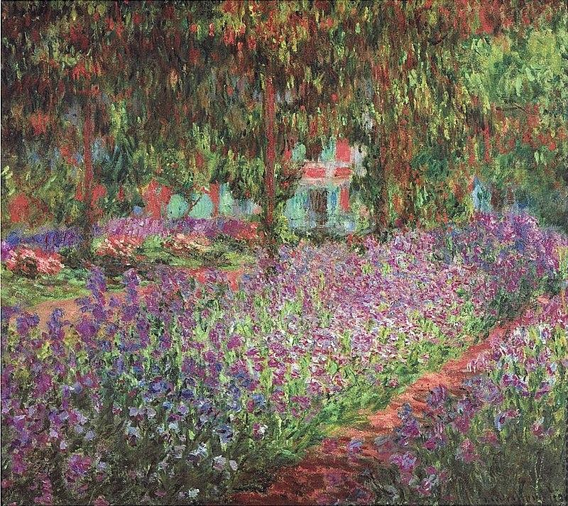 Il giardino dell'artista a Giverny è un dipinto a olio su tela (81 x 92 cm) realizzato nel 1900 dal pittore francese Claude Monet. È conservato nel Musée d'Orsay di Parigi.