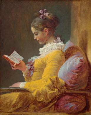 Jean Honorè Fragonard, La lettrice, 1776