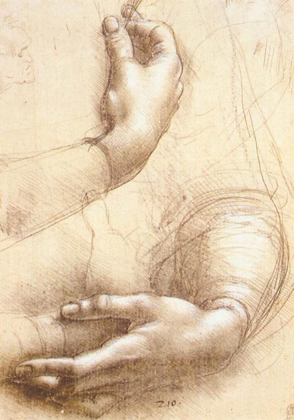 Leonardo da Vinci Data 1474 Tecnica disegno a punta d'argento Dimensioni 21,4×15 cm Ubicazione Castello di Windsor, Windsor