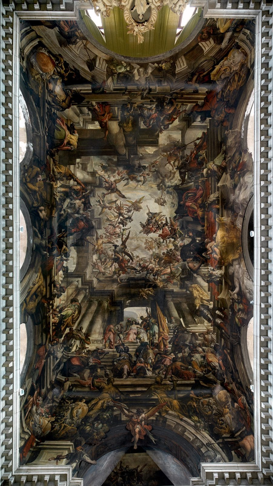 Martirio e gloria di san Pantaleone (1684-1706) Giovanni Antonio Fumiani olio su tela - © sanpantalon.it