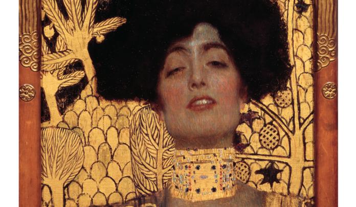 Gustav Klimt. Giuditta I. 1901 Olio su tela cm. 84X42 Vienna, Österreichische Galerie Belvedere