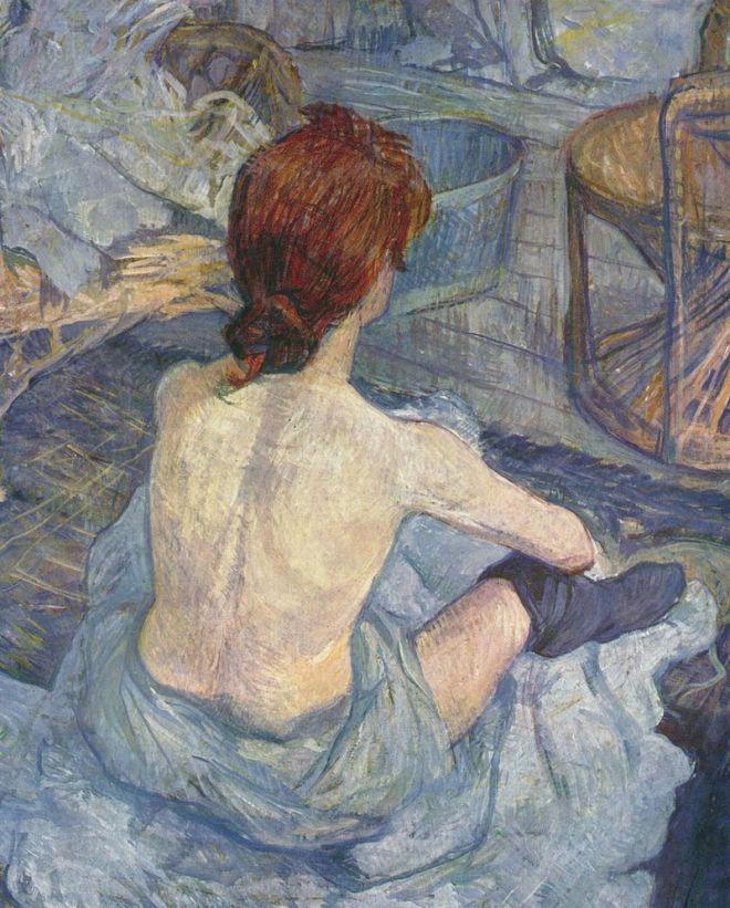 enri de Toulouse-Lautrec, La toilette, 1896, olio su cartone, 67×54 cm, Musée d'Orsay, Parigi