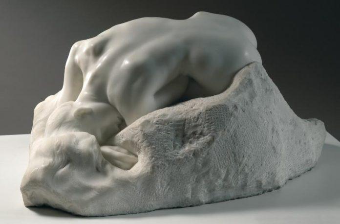 DANAÏD Auguste Rodin (1840 -1917) 1889 Marble H. 36 cm ; W. 71 cm ; D. 53 cm S. 1155:Lux. 90 Marble, 1890 Marble carved by Jean Escoula. © Musée Rodin - p.Credit Chrian Baraja