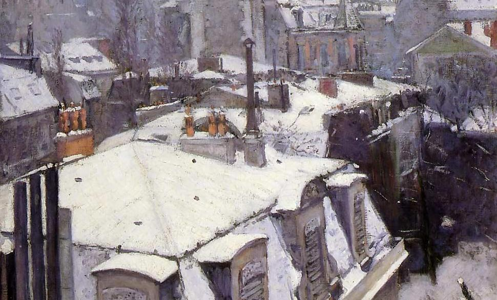 Gustave Caillebot, Veduta di Tetti, Musée d'Orsay