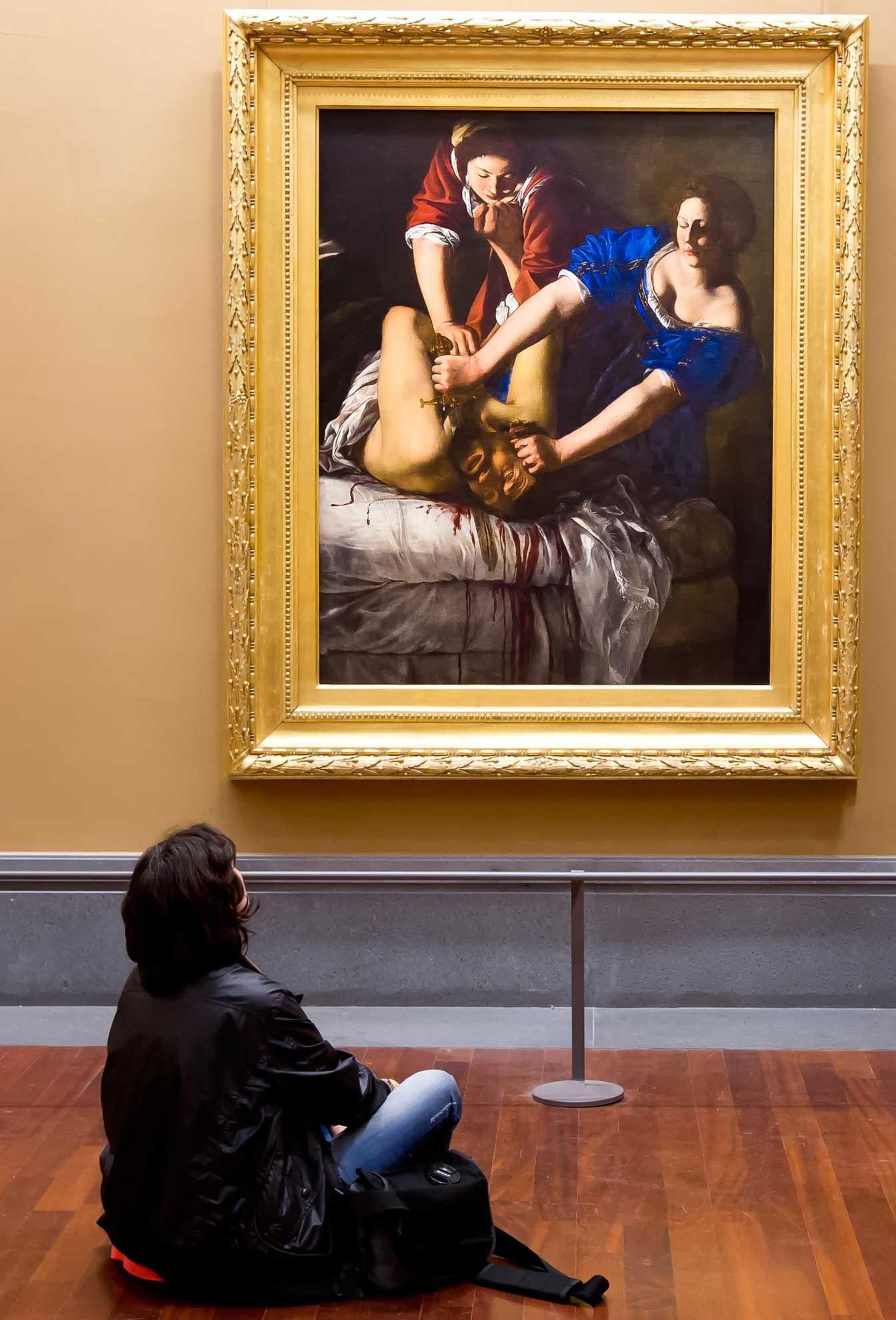 """Artemisia Gentileschi """"Giuditta e Oloferne"""" - """"Courtesy Museo e Real Bosco di Capodimonte"""""""