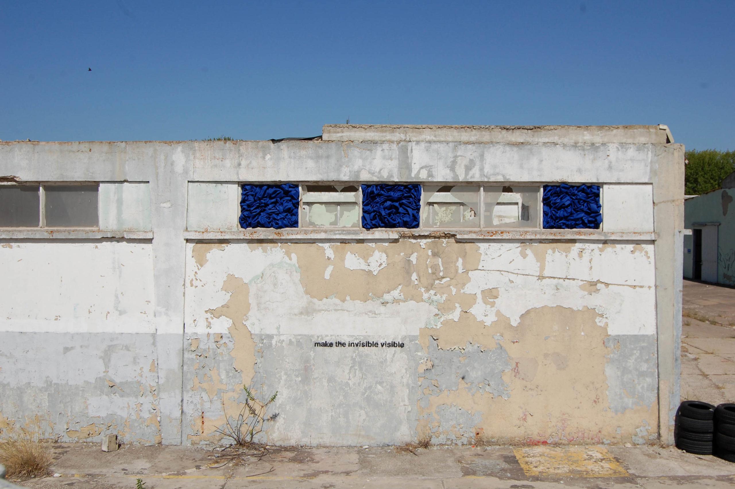 Window #1 #2 #3 (Make the invisible visible), acrilico su tela, 60 x 80 cm (ciascuno), 2019 – Courtesy Bislacchi Studio