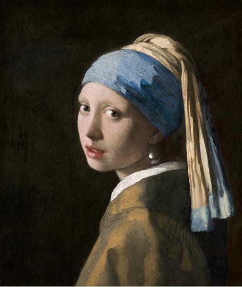 la ragazza con l'orecchino di perla - Jan Vermeer