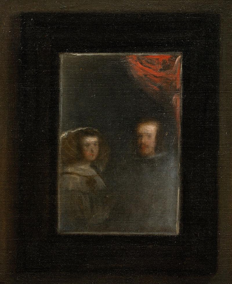 Diego Velázquez, Las Meninas, 1656, olio su tela, cm 318 X 276.