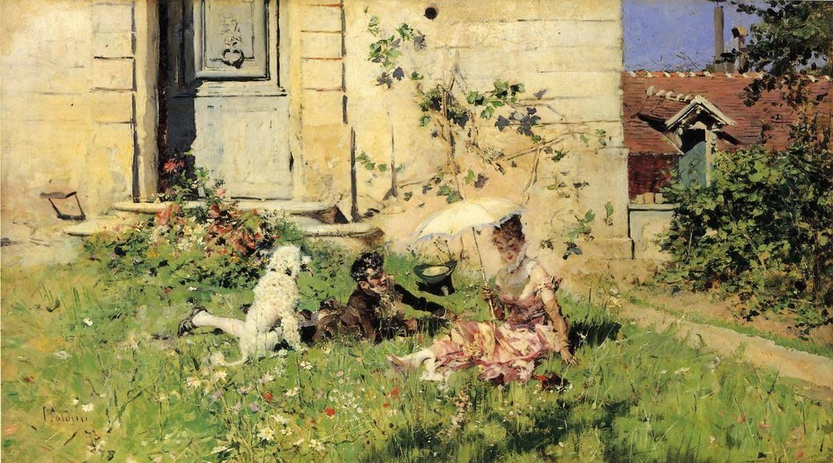 Giovanni Boldini Primavera, 1873