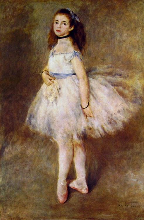 P A. Renoir, Ballerina, 1874, olio su tela, National Gallery of Art, Washington