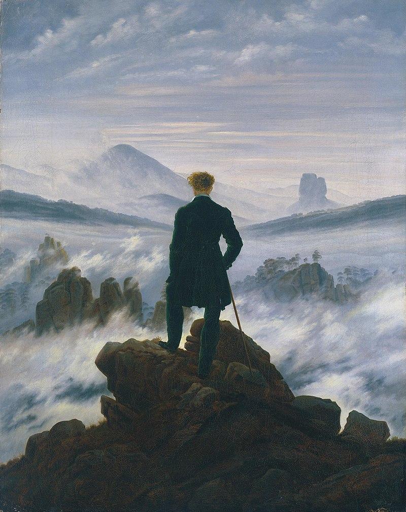 Caspar David Friedrich, Il Viandante sul mare di nebbia