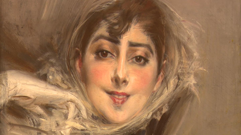 Giovanni Boldini. Il piacere. Story of the Artist (video still). Ritratto di Emiliana Concha de Ossa