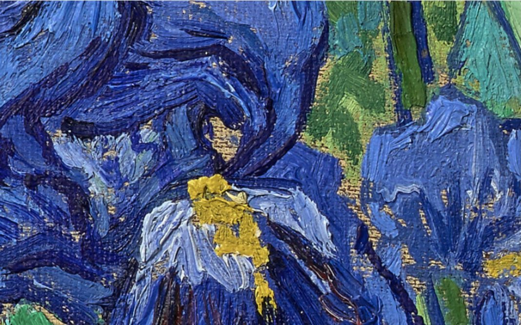 Vincent van Gogh (Dutch, 1853 - 1890) Irises, 1889, Oil on canvas 74.3 × 94.3 cm (29 1/4 × 37 1/8 in.), 90.PA.20 The J. Paul Getty Museum, Los Angeles